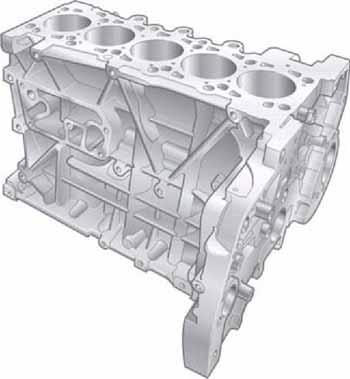 Forum_T5 Блок цилиндров двигателя R5 TDI рабочим объемом 2.5л.