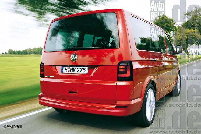 Форум Т5 Новый VW T6 2015