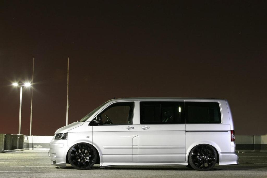 Volkswagen Transporter T5 от тюнинг ателье Mr Car Design