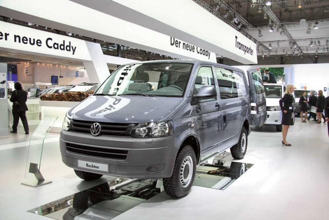 Полноприводный – VW Transporter Rockton